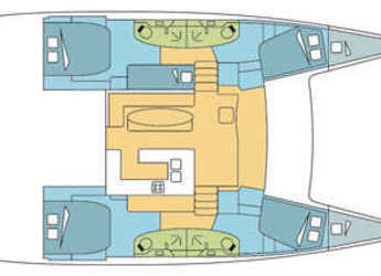 Louer catamaran à Yacht Haven Marina - Salina 48