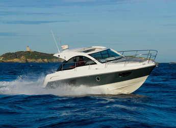 Rent a motorboat Gran Turismo 34 in Marina Kotor, Kotor