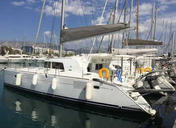 Rent a catamaran in Alimos Marina Kalamaki - Lagoon 440