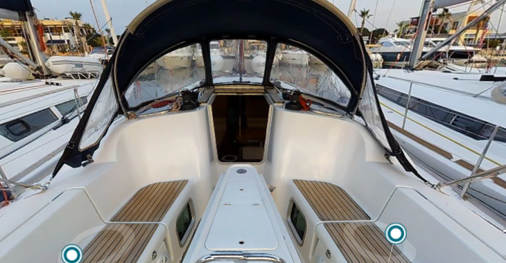 Rent a sailboat Sun Odyssey 39i in Marina de Dénia, Denia