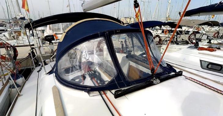 Rent a sailboat Sun Odyssey 39i in Marina de Dénia, Denia