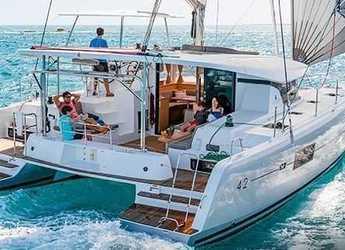 Alquilar catamarán en Scrub Island - Lagoon 42