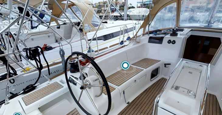 Rent a sailboat in Marina de Dénia - Sun odyssey 44.9