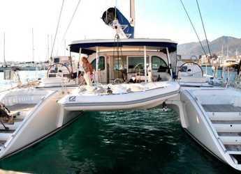 Alquilar catamarán Lagoon 570 en Playa Talamanca, Ibiza (ciudad)