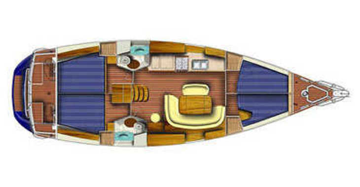 Rent a sailboat in Marina Baotić - Sun Odyssey 45