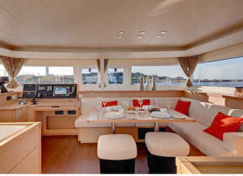 Chartern Sie katamaran Lagoon 450 in Marina di Nettuno, Rome