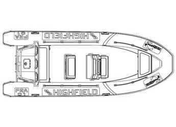 Rent a motorboat Highfield Patrol 660 in Marina Sukosan (D-Marin Dalmacija), Sukosan