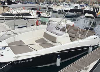 Rent a motorboat in Marina Deportiva Alicante - Quicksilver Active Open 605