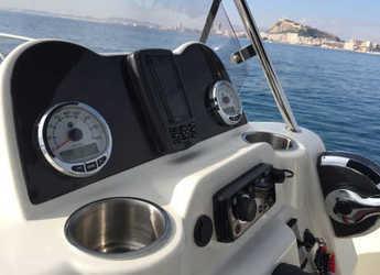 Rent a motorboat Quicksilver Active Open 605 in Marina Deportiva Alicante, Alicante