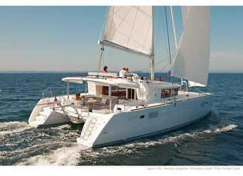 Rent a catamaran in Marina Sukosan (D-Marin Dalmacija) - Lagoon 450 F