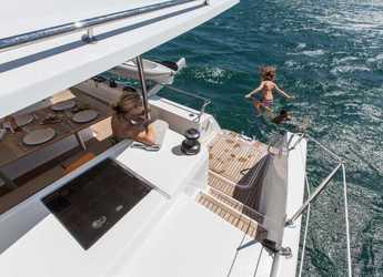 Chartern Sie katamaran Helia 44 in Blue Lagoon, St. Vincent