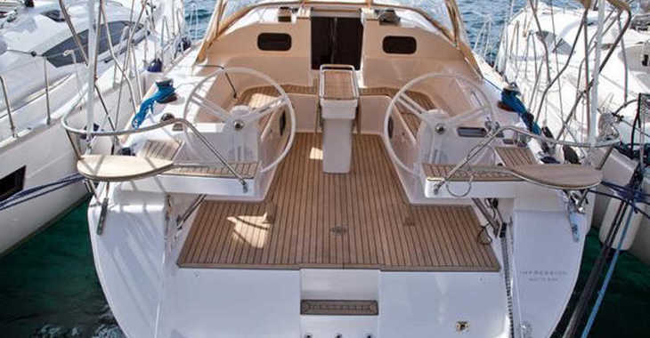 Rent a sailboat in Marina Kornati - Elan 40 Impression