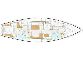 Rent a sailboat Nauticat 58 in Admiralty Bay, Bequia
