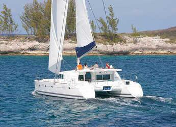 Chartern Sie katamaran in Marina Rubicon - Lagoon 500 (5Cab)