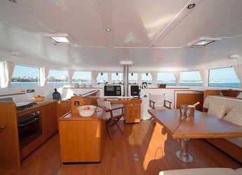 Rent a catamaran Lagoon 500 (5Cab) in Marina Rubicon, Lanzarote