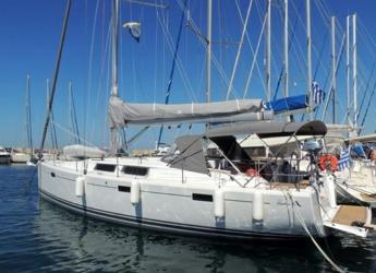 Rent a sailboat in Alimos Marina Kalamaki - Hanse 415 (3Cab)