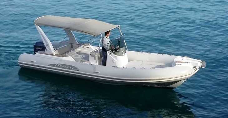 Rent a motorboat in Port Mahon - Capelli Tempest 770