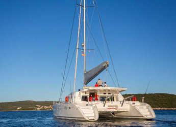 Rent a catamaran in SCT Marina Trogir - Lagoon 500 Luxury