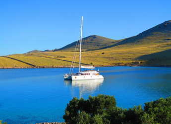 Rent a catamaran in SCT Marina Trogir - Lagoon 620 Luxury