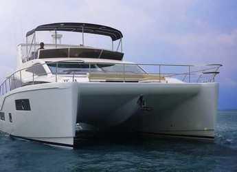 Alquilar catamarán a motor Hudson HPC 48  en Nanny Cay, Tortola