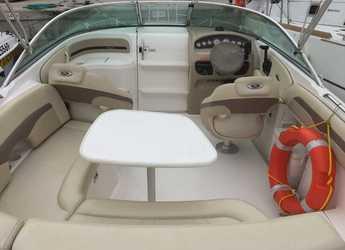 Rent a motorboat Chaparral 235 in Port Ginesta, Barcelona