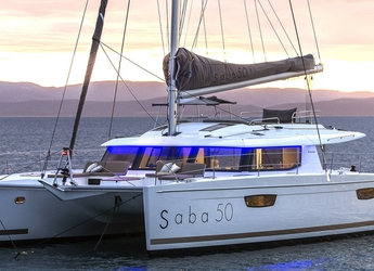 Rent a catamaran in American Yacht Harbor - Saba 50