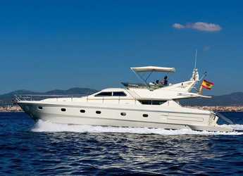 Rent a yacht in Port of Can Pastilla - Ferretti 175 Fly