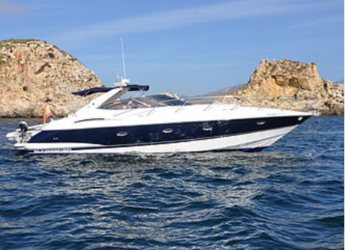 Rent a yacht in Port Adriano - Sunseeker Camargue 44'
