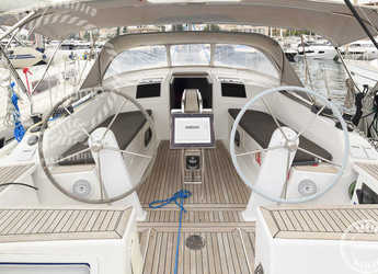 Chartern Sie segelboot Hanse 385 in Cala Nova, Palma de mallorca