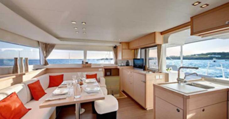 Rent a catamaran Lagoon 450 in Marina Port La Royale, St Martin
