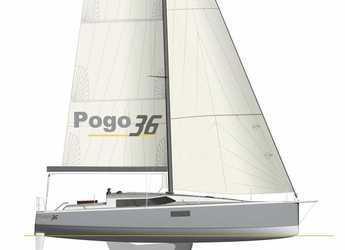 Chartern Sie segelboot Pogo 36 in Port Roses, Girona
