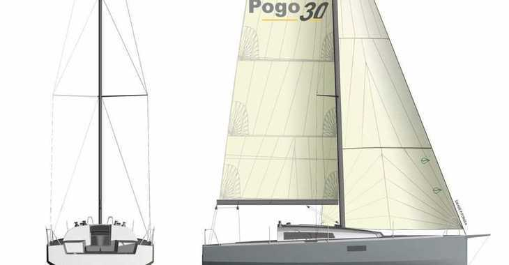 Rent a sailboat Pogo 30 in Port Roses, Girona