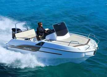 Chartern Sie motorboot in Marina Palamos - Beneteau 5.5 Flyer Sundeck