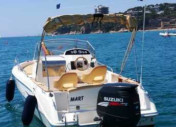 Rent a motorboat Capelli Cap 21 in Marina Palamos, Palamos