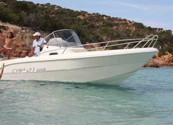 Rent a motorboat in Marina Palamos - Capelli Cap 21