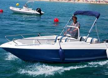 Rent a motorboat Quicksilver 5.5 Commander in Marina Palamos, Palamos