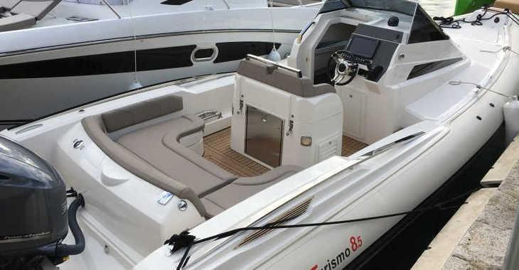 Chartern Sie schlauch-/beiboot in Marina Porto Cristo - Lomac 8.5 GT