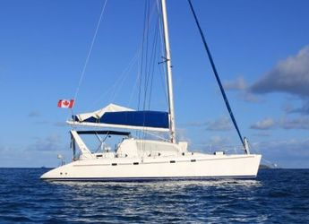 Rent a power catamaran  in Marina Fort Louis - Leopard 47 ST Martin