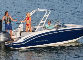 Rent a motorboat in Club Naútico de Sant Antoni de Pormany - Chaparral 230