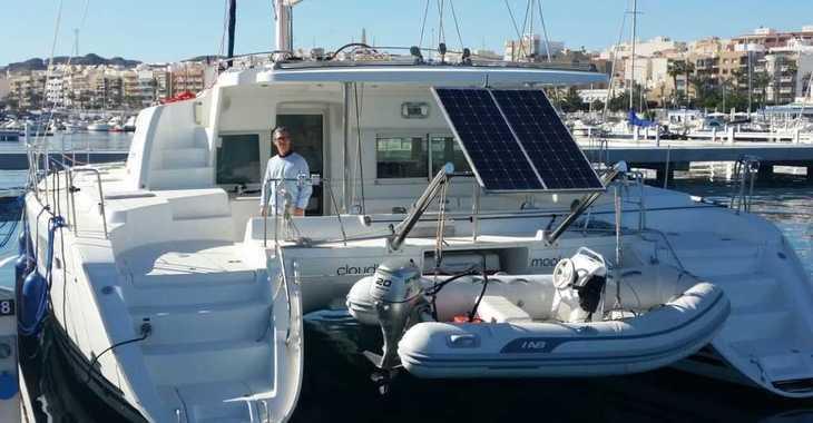 Alquilar catamarán Lagoon 440 en Garrucha, Almería