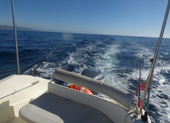 Rent a motorboat Astromar Open 950 in Garrucha, Almeria