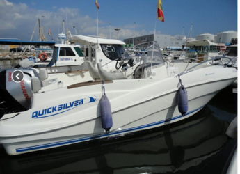 Rent a motorboat in Garrucha - Quicksilver 635