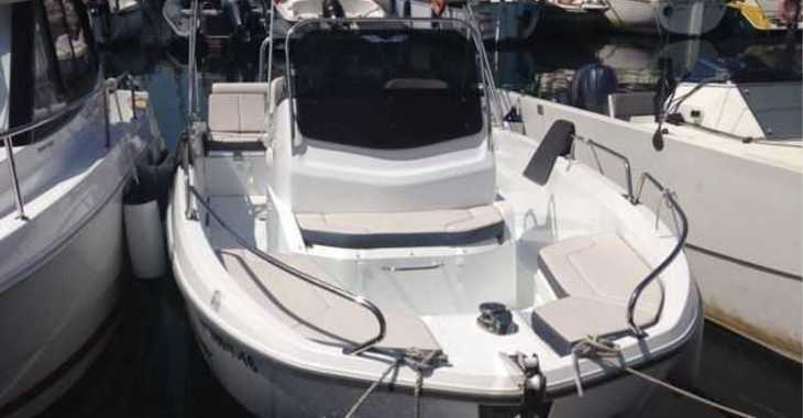 Chartern Sie motorboot in Club Nautic Cambrils - Beneteau Flyer 6.6 Spacedeck