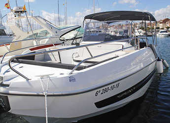Chartern Sie motorboot in Club Nautic Cambrils - Beneteau Flyer 8.8 Spacedeck