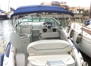 Rent a motorboat Crowline 270CR in Port of Fornells, Fornells