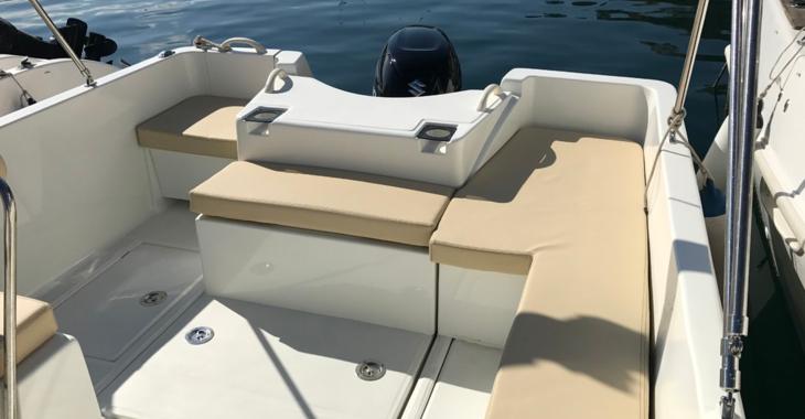 Rent a motorboat in Puerto de blanes - Shiren 23 Open