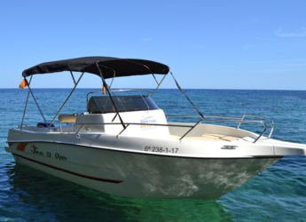 Rent a motorboat in Puerto de blanes - Shiren 23 Open