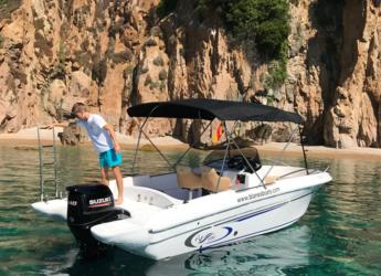 Alquilar lancha AV 696 en Puerto de blanes, Girona