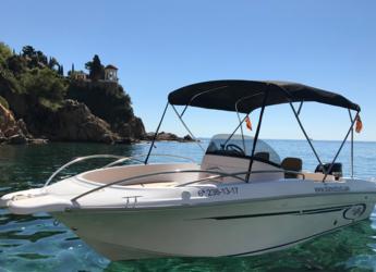 Louer bateau à moteur à Puerto de blanes - AV 696