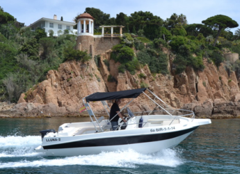 Rent a motorboat Shiren 22 Open  in Puerto de blanes, Girona